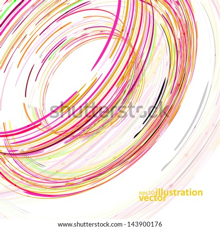 Colorful elements vector background, creative style illustration eps10