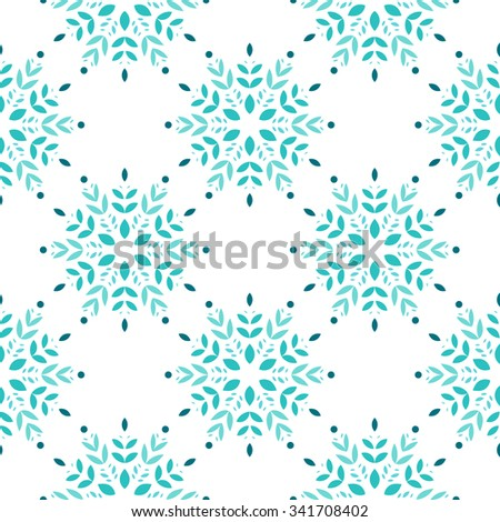 Colorful floral seamless patterns for wallpaper, pattern fills, web page background, scrapbooking, surface textures.  - stock vector