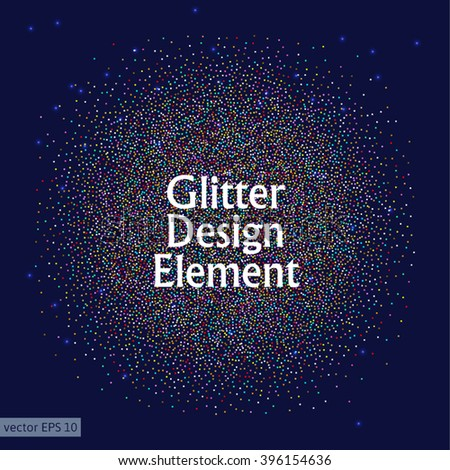 Colorful glitter background.Glitter background for card, vip, certificate, gift, luxury, present, shopping. - stock vector