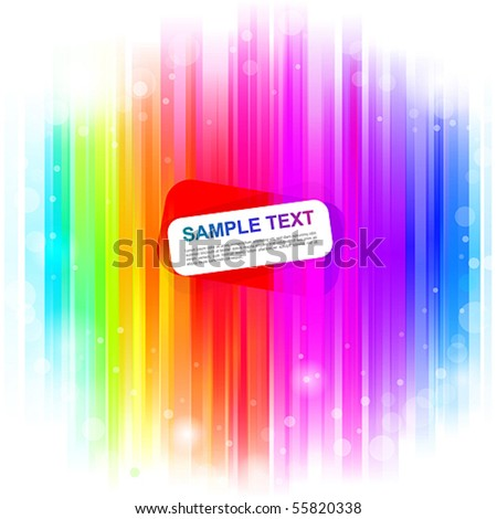 Colorful glowing background. Vector illustration - stock vector
