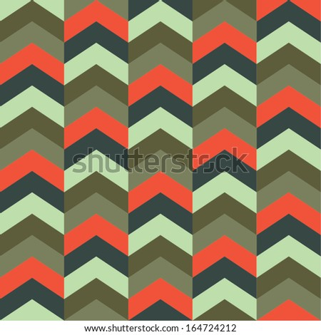 Colorful Holiday Geometry Seamless Vector Background Pattern 3 - stock vector