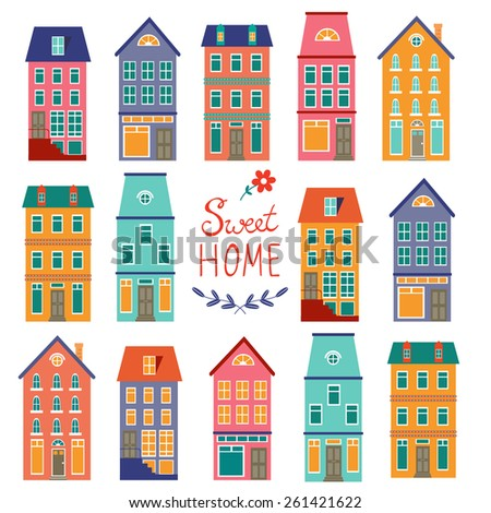 Row Of Houses Stock Images, Royalty-Free Images & Vectors ...