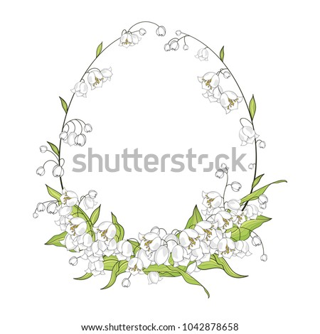 easter lily template