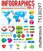 Colorful infographic vector collection 2 - stock vector