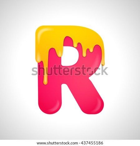 Colorful letter R logo design template  Stylish vector icon. Colorful Letter L Logo Design Template Stock Vector 438067192