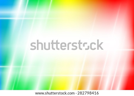 Colorful light abstract background with copy space - stock vector