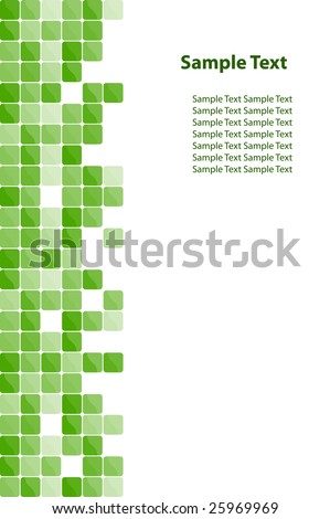Colorful mosaic background. Vector-Illustration - stock vector