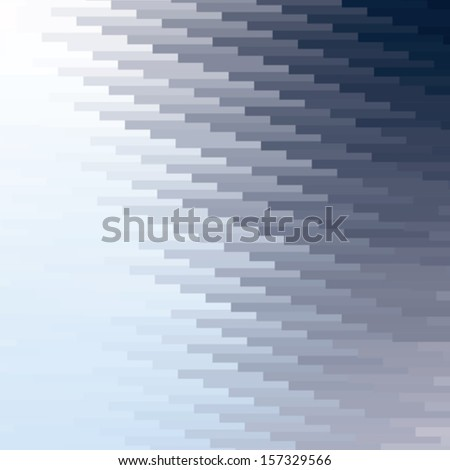 colorful mosaic banner background, abstract vector illustration - stock vector
