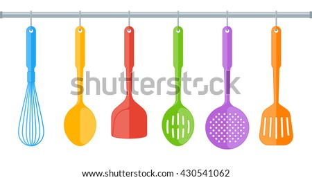 Restaurant Kitchen Utensils kitchen utensils stock images, royalty-free images & vectors
