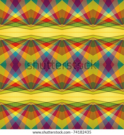 Colorful repeating background - stock vector