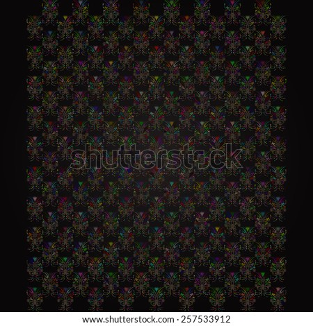 Colorful retro abstract background for you design - stock vector