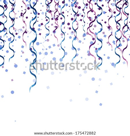 Colorful ribbons - vector