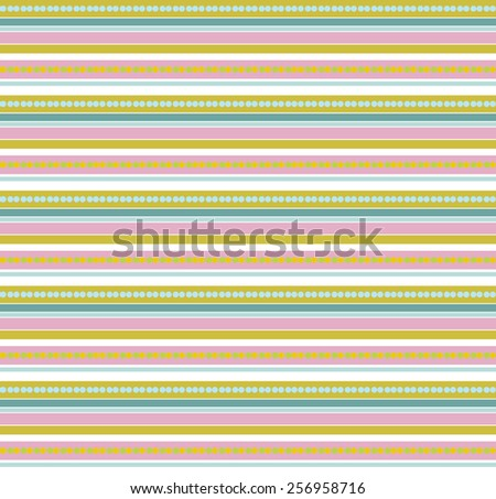 Colorful seamless pattern for eggs easter day vector design - stock vector