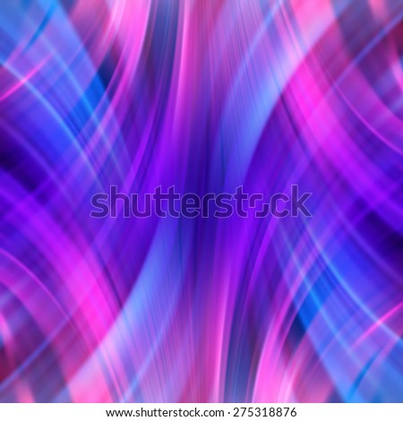 Colorful smooth light lines background. Vector illustration - stock vector