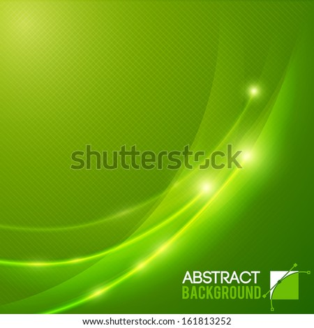 Colorful smooth twist light lines. Vector Illustration, eps10, contains transparencies. - stock vector