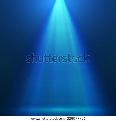 Colorful spotlight background. Vector illustration  - stock vector