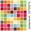 colorful squares - stock vector