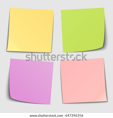 Set Stickers Vector Illustration Stock Vector   Shutterstock