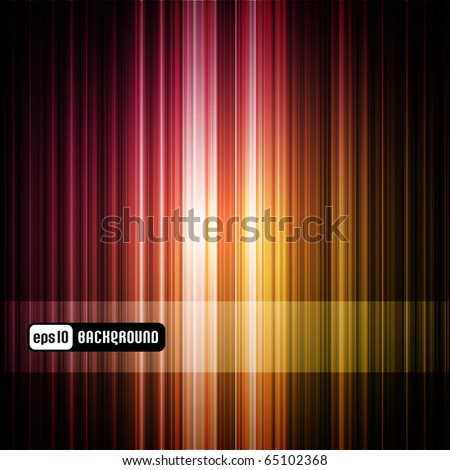 colorful striped abstract background (panel is removable)