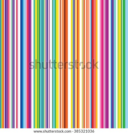 Colorful striped abstract background, variable width stripes. Vertical stripes color line. Seamless pattern design for banner, poster, card, postcard, cover, business card.  - stock vector
