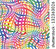 Colorful Striped Seamless Pattern.     Vector illustration. - stock vector