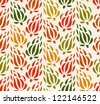 Colorful tapestry floral background. Endless decorative pattern. Seamless pattern can be used for wallpaper, pattern fills, web page background, surface textures. Gorgeous floral backdrop - stock vector