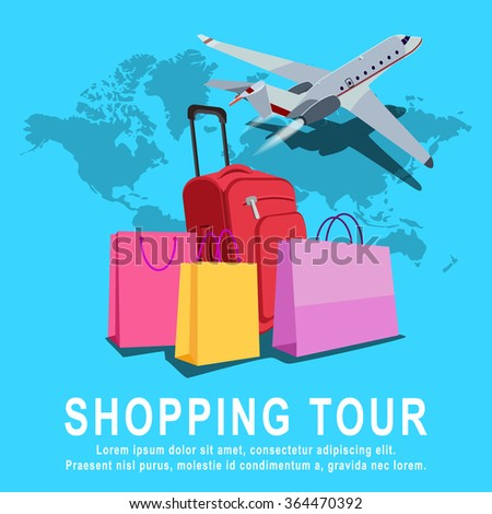 Shopping and traveling