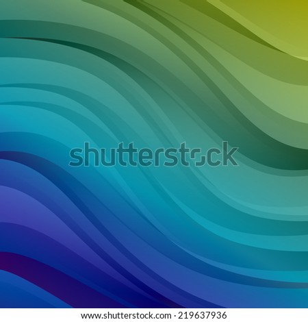 colorful vector abstract background - stock vector