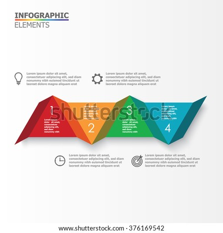 Colorful vector elements for infographics. Templates with elements and characters for presentations, business and marketing.