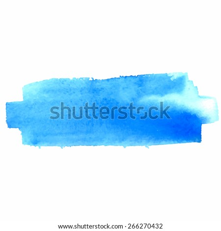Colorful Watercolor Banner. Vector illustration