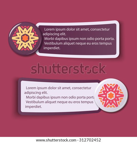 Colorful Web Stickers, Tags and Labels - Illustration. eps10