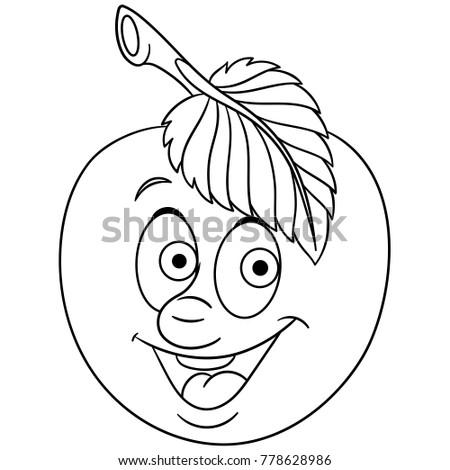 97 Apple Smile Coloring Page Smile Coloring Page