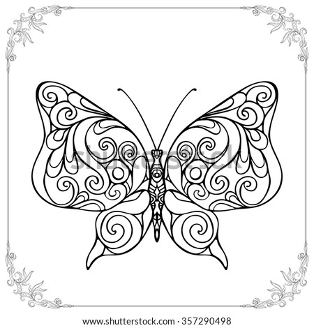Coloring pages for senior adults ~ Coloring Book Adult Older Children Coloring Stock Vector ...