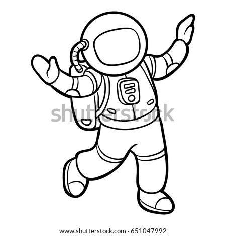 astronauts coloring pages for kids - photo#32