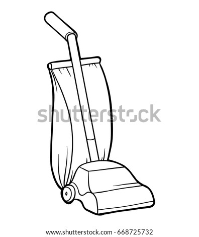 Vacuum Coloring Images - Reverse Search Vacuum Coloring Pages