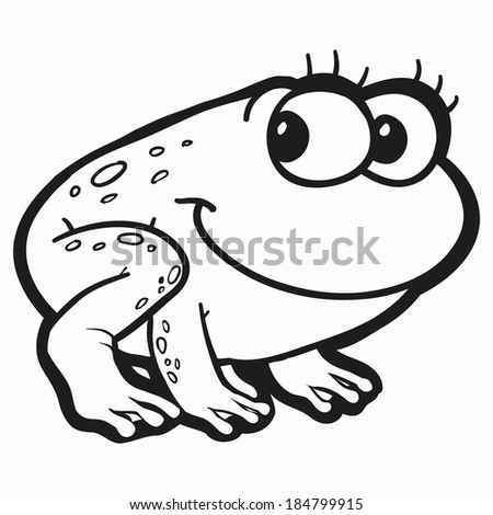 Toad outline