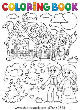 hansel si gretel coloring pages - photo#10