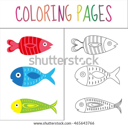 Stock images royalty free images vectors shutterstock for Colorful fish book