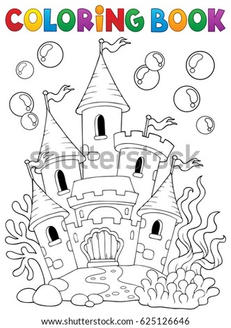Castle Underwater Vector Stock Images Royalty Free Images