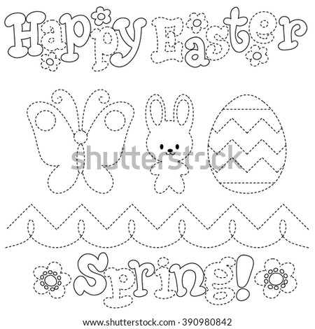 butterfly easter egg coloring pages - photo#14