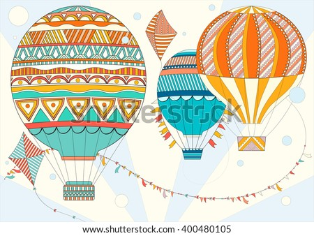 Coloring Page Adult Children A4 Vector Stock Vector 400480105