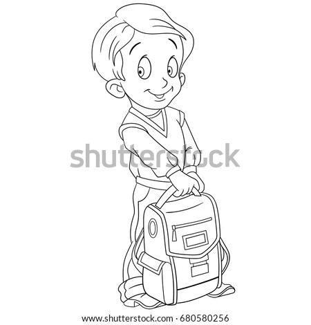 Cartoon School Boy Stock Images Royalty Free Images Vectors