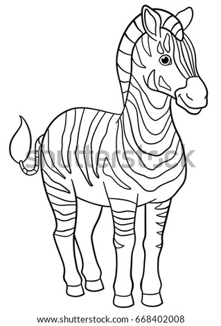 Zebra Peace Sign Coloring Pages Coloring Pages Cute Be...