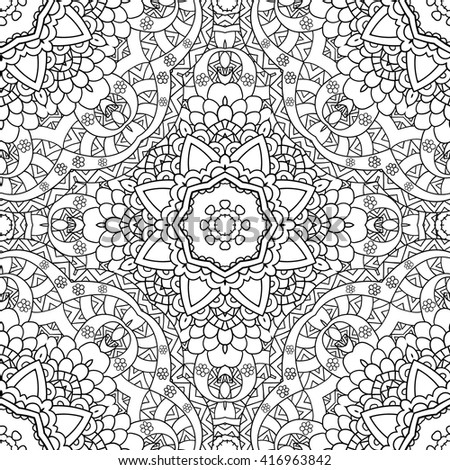 coloring pages for adults coloring bookdecorative hand drawn doodlezentangle nature ornamental