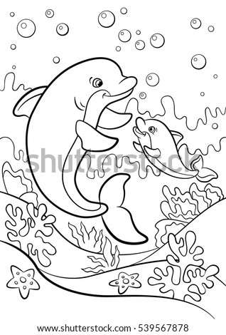 baby sea animal coloring pages-#21