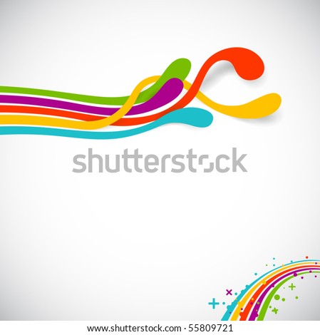 colors - stock vector