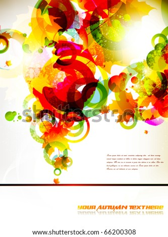 colourful background - stock vector