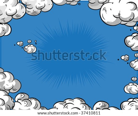 Comic book - Background - stock vector