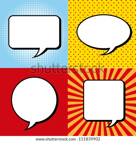 comic icons over grunge background vector illustration  - stock vector