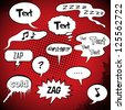 Comic Style Speech Bubbles Collection/Set | Vector - stock vector